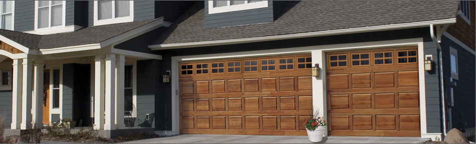 Image of Wooden Garage Doors